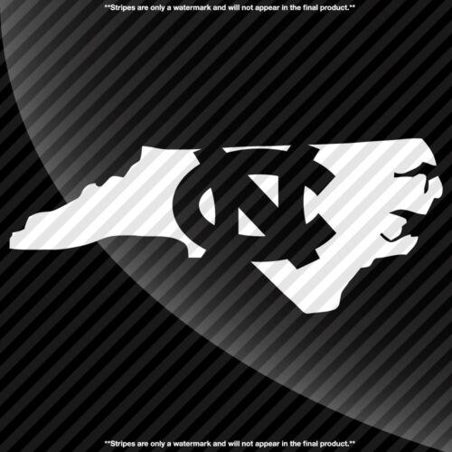 North Carolina Tarheels NC State Pride Decal Sticker TONS OF OPTIONS