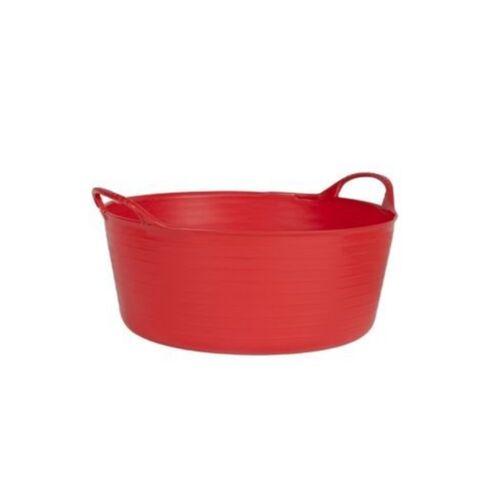 Flexible Bucket Small Tubtrugs Tubtrug Sp15r Shallow Red Flex Tub 15 Liter