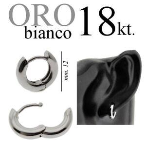 mono-orecchino-fuso-MASSICCIO-ORO-BIANCO-18kt-cerchio-anello-zirconi-lobo-trago