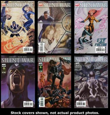 Marvel Silent War Comic issues 1 2 3 4 5 6 complete VF//NM 2007