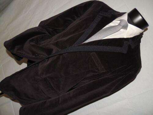 AX Armani Exchange men's Black Velvet jacket coat