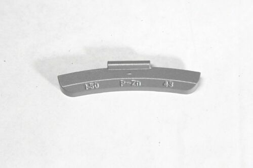 100 Pcs CLIP-ON WHEEL WEIGHT BALANCE P STYLE 1.5 oz