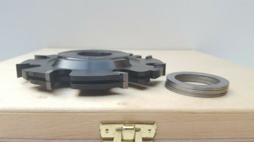 HW HM Verstellnuter Nutfräser 120 x 5,0-19,0 x 30 mm v Pela in Holzkassette Neu