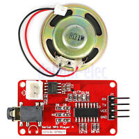High quality UART Serial MP3 Music Player Module With 1W Speaker for Arduino DE