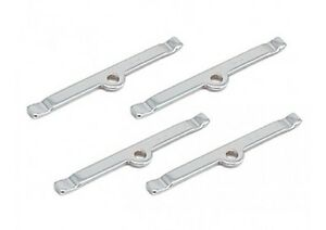 Valve Cover Spreader Bars 8 pieces Small Block Chevrolet Fits 265 to 400 Engines