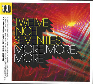 V/a - Twelve Inch Seventies (More, More, More) 3-cd