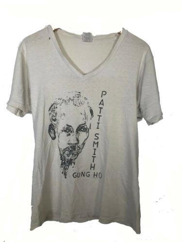 Vintage Patti Smith Gung Ho White T-shirt