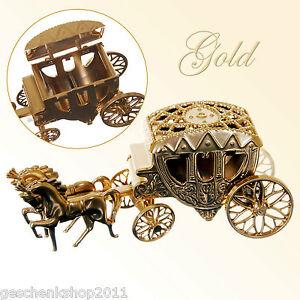 hochzeitskutsche deko kutsche gold hochzeit geschenk. Black Bedroom Furniture Sets. Home Design Ideas