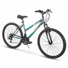 """NEW Huffy 27.5/"""" Carnage Men/'s Mountain Bike 21 Speed Mid-Fat Plus Tires Green"""