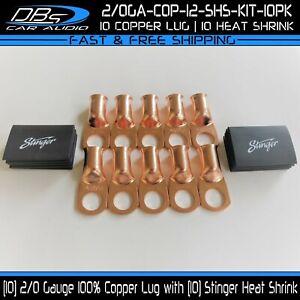 10-2-0-Gauge-Copper-1-2-034-Ring-Terminal-Lug-Battery-Connector-Stinger-Heat-Shrink