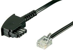 dsl splitter kabel anschlusskabel tae f stecker auf 6p2c dec westernstecker 15m ebay. Black Bedroom Furniture Sets. Home Design Ideas