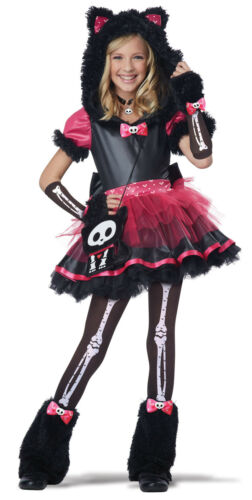 Skelanimals Kit the Cat Deluxe Child  Costume