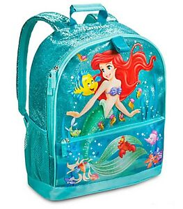 Image is loading Disney-Store-Authentic-The-Little-Mermaid-Ariel-School-