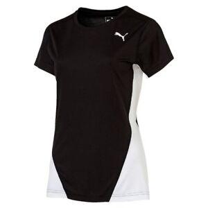 c579ec82957a3 Puma Womens Ladies Sports Running T-Shirt Short Sleeve Top Jogging ...