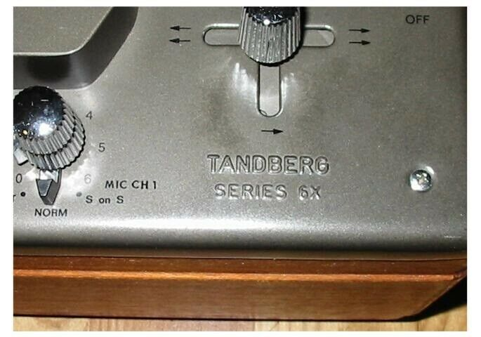 Spolebåndoptager, Tandberg, 641x- 72b-74b