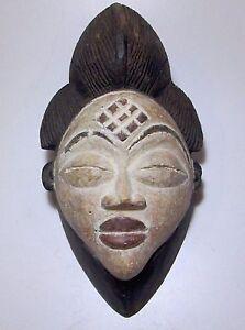 Beautiful Older PUNU Spirit of a Young Girl African mask African Art