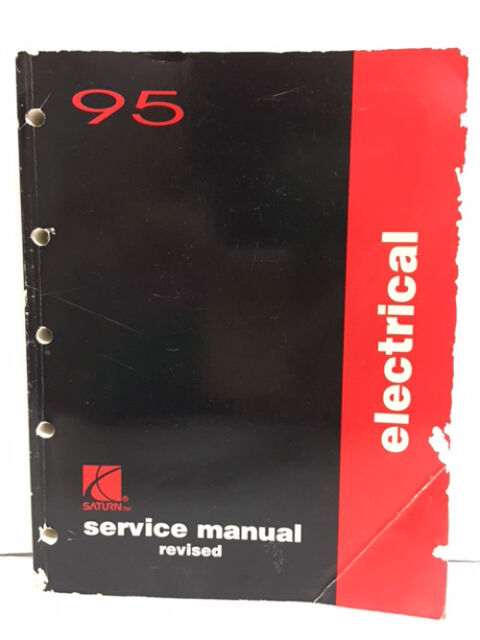 1995 Saturn Electrical Auto Repair Shop Revised Service