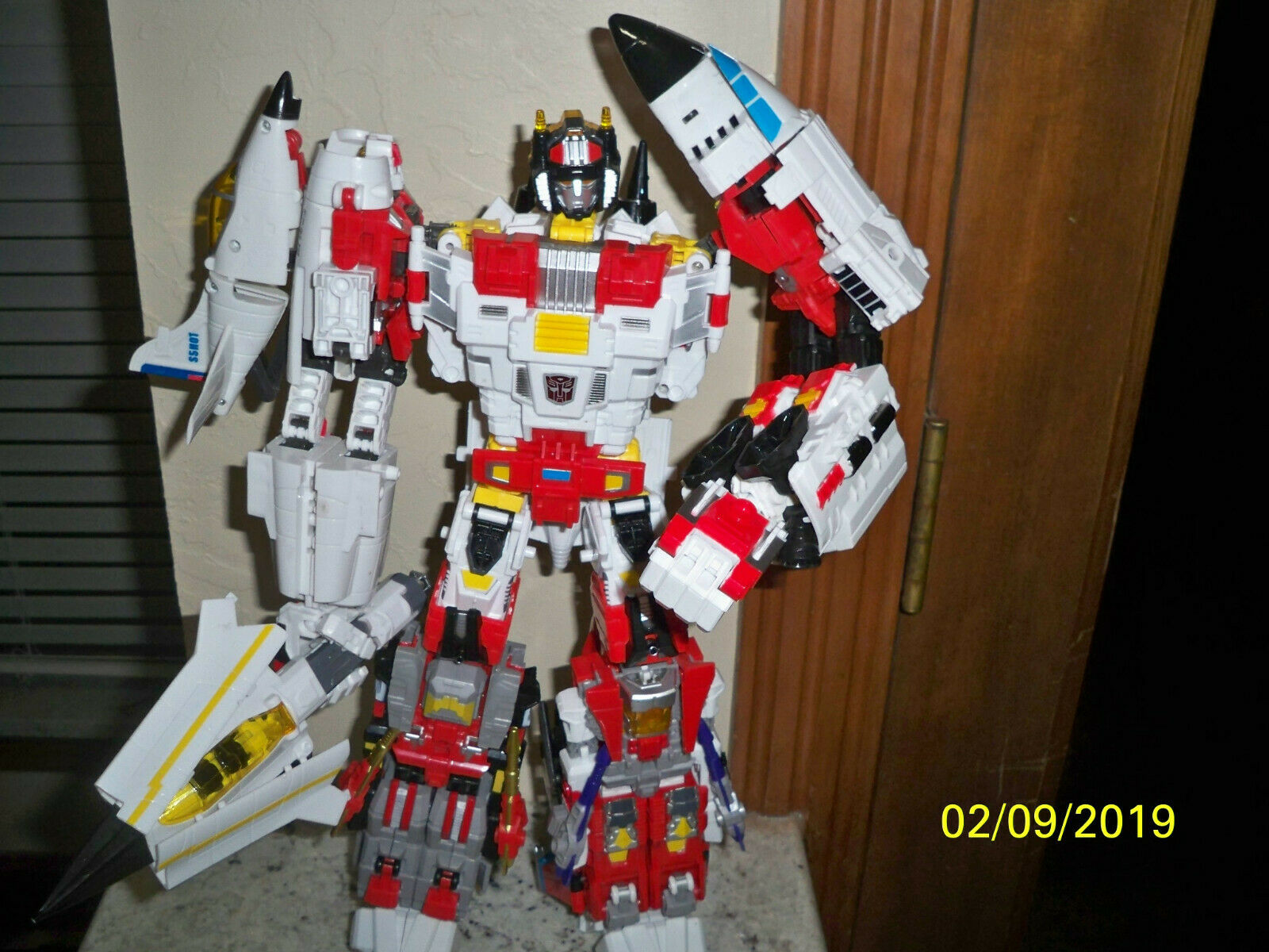 TFC URANUS Transformers Masterpiece 4th party OS version Superion RARE