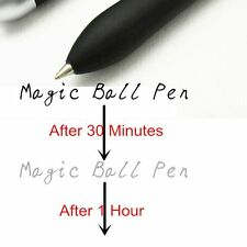 Pen Invisible Ink Disappear One Hour Slowly Magic Ballpoint Pen