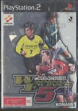 Used PS2 J-League Winning Eleven 5 Japan Import (Free Shipping)