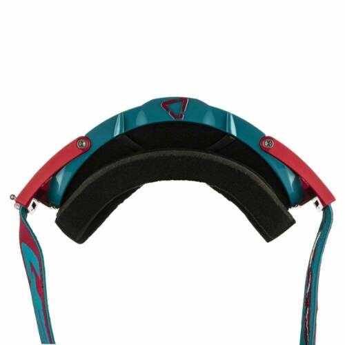 Leatt 2019 Velocity 6.5 Iriz Tear Off Goggles with Bronze Lens Red// Teal