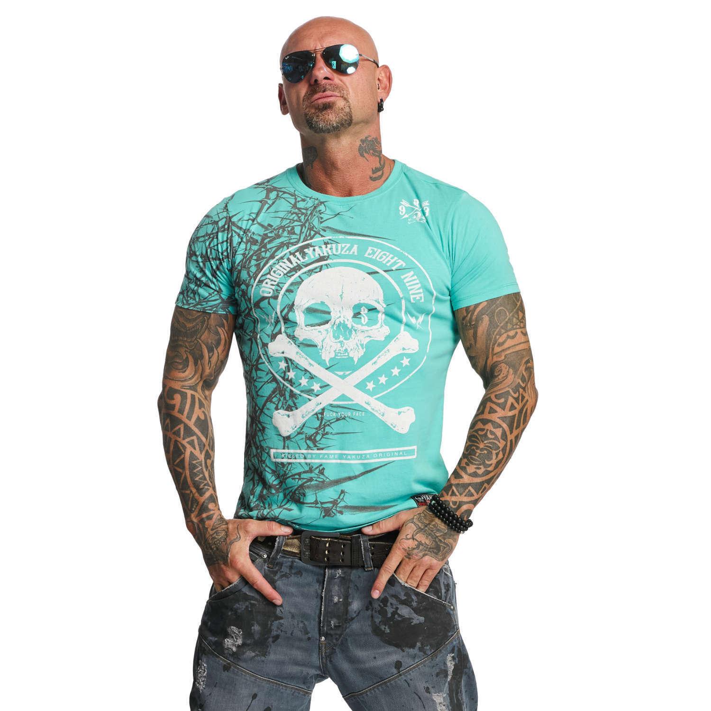 YAKUZA - - - Herren T-Shirt TSB 11044  Thorns  turquoise (türkis)   | Kostengünstiger  | Erste Gruppe von Kunden  | Guter Markt  e54d97