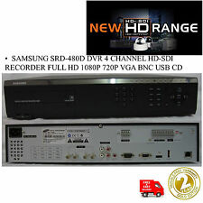 Refurb SAMSUNG SRD-480D 4 CHANNEL HD-SDi HYBRID DVR FULL HD 1TB 1080P REALTIME
