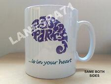 PRINCE Paisley Park Studio UNIQUE LOGO ART DESIGN White Coffee Mug *NEW*