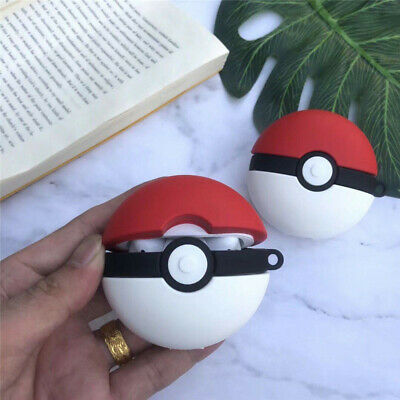 Poke Ball Iphone Wireless Bluetooth Headset Cover Case For Airpods