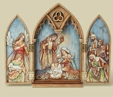Holy Family Triptych, Angels, Wisemen - by Joseph's Studio - Christmas Artwork