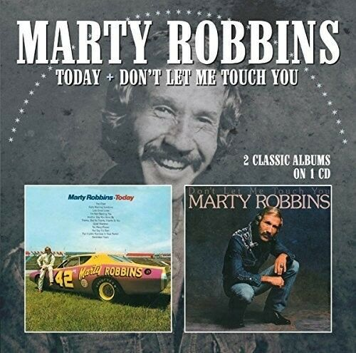 Marty Robbins - Today / Don't Let Me Touch You [New CD] UK - Import