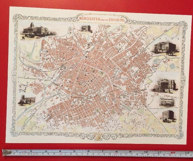 OLD ORDNANCE SURVEY DETAILED MAP CLAPHAM COMMON  LONDON 1914 S115