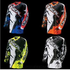 O-039-NEAL-Element-SHOCKER-JERSEY-CAMISETA-conductor-MX-Motocross-MTB-DH-FR-M-L-XL