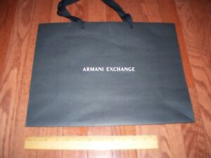 daa2f624ce78 Image is loading Armani-Exchange-Gift-Bag-Medium-New