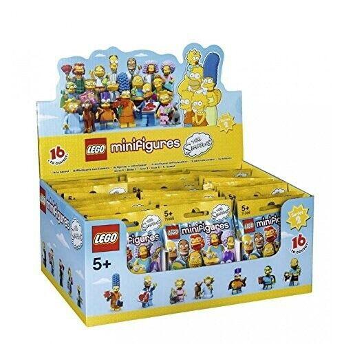 LEGO® Minifiguren The Simpsons™ Serie 2 - 71009 - Thekendisplay (á 60 Tüten)