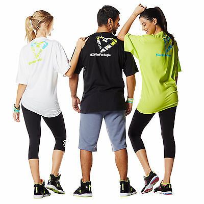 Zumba Fitness Unisex Cotton T-Shirts! One Size Fits Most!  HOT SALE!  Fast ship!