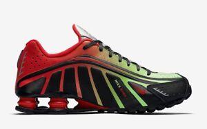 Nike-Shox-R4-NEYMAR-JR-Ltd-Scarpe-Da-Ginnastica-Da-Uomo-Taglia-UK-7-NUOVO-CON-SCATOLA-NO-TAPPO