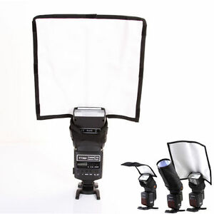 Foldable-Speedlight-Reflector-Snoot-Sealed-Flash-Softbox-Diffuser-Bender-Beam