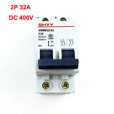 10//16//20//32//40//63A DC Miniature Circuit Breaker 1P 1 Pole 250V for Solar Energy