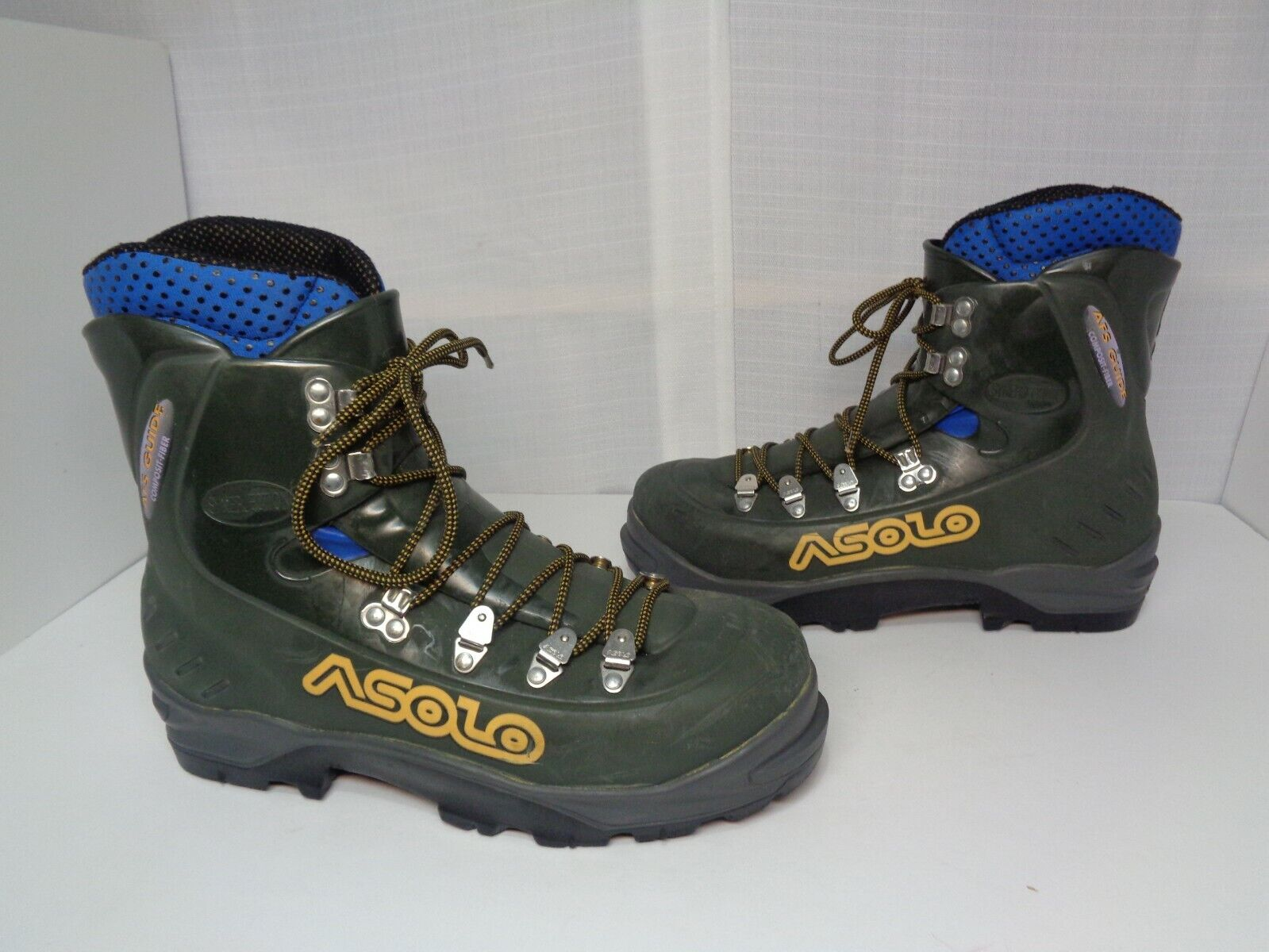 Para Hombre botas Asolo 51701 Montañismo AFS guía Talla 8-Hecho en Italia