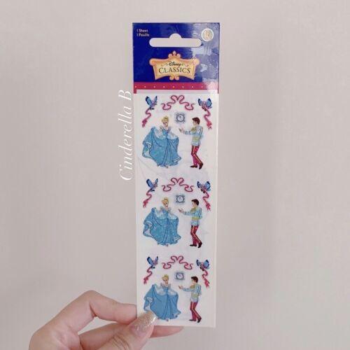 New Disney Princess Rare Classic Cinderella Sleeping Beauty Stickers Sandylion