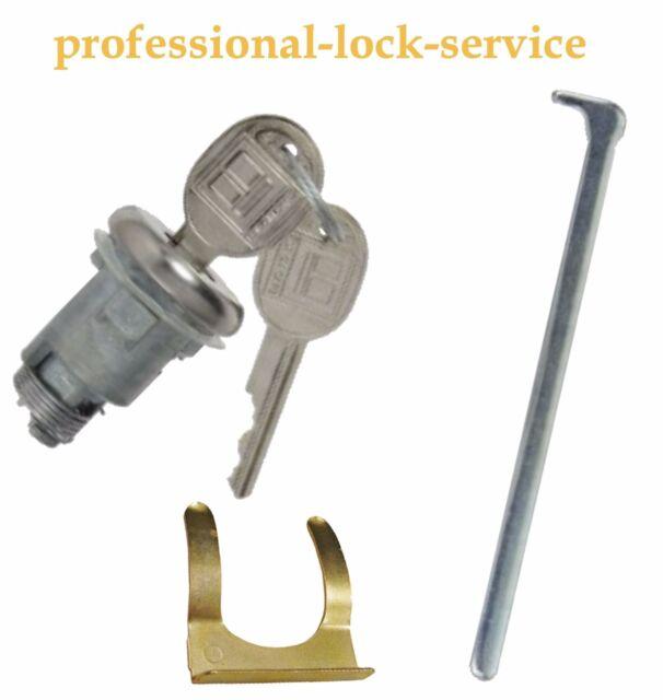 Cadillac Cimarron 1982-1988 Trunk Boot Key Lock Cylinder Tumbler 2 Keys Black