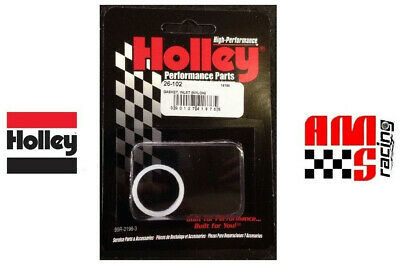 Holley 26-102 Fuel Bowl Inlet Fitting Gasket 8 Pack of