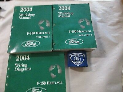 2004 FORD F-150 HERITAGE SERVICE SHOP MANUAL & WIRING ...