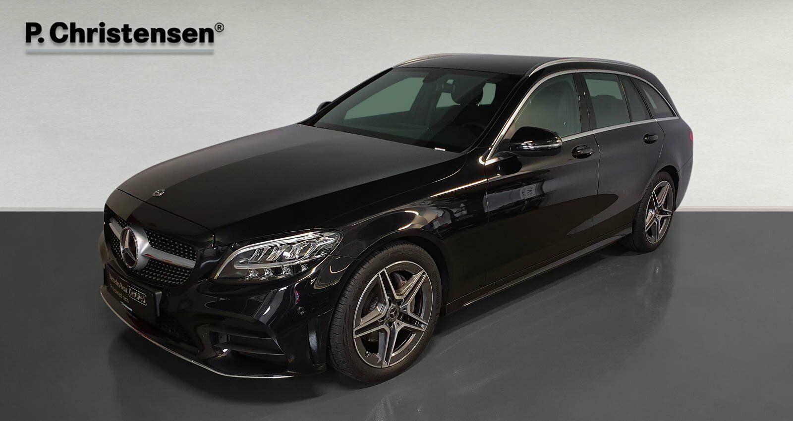 Mercedes C200 1,5 AMG Line stc. aut. 5d - 434.900 kr.