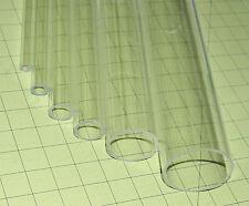 Clear 3 14 Od Diameter 3 Id 12 Inch Long Acrylic Plexiglass Lucite Tube