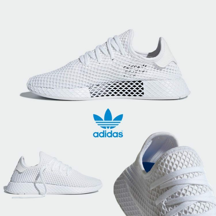 Adidas DEERUPT Runner Shoes Athletic Sz4-12 Sneaker Lightweight Mesh CQ2626 Sz4-12 Athletic 87aa6f