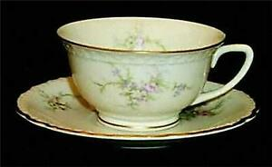 VOGUE-Susanna-Pattern-1957-Cup-amp-Saucer-Set-Porcelain-China