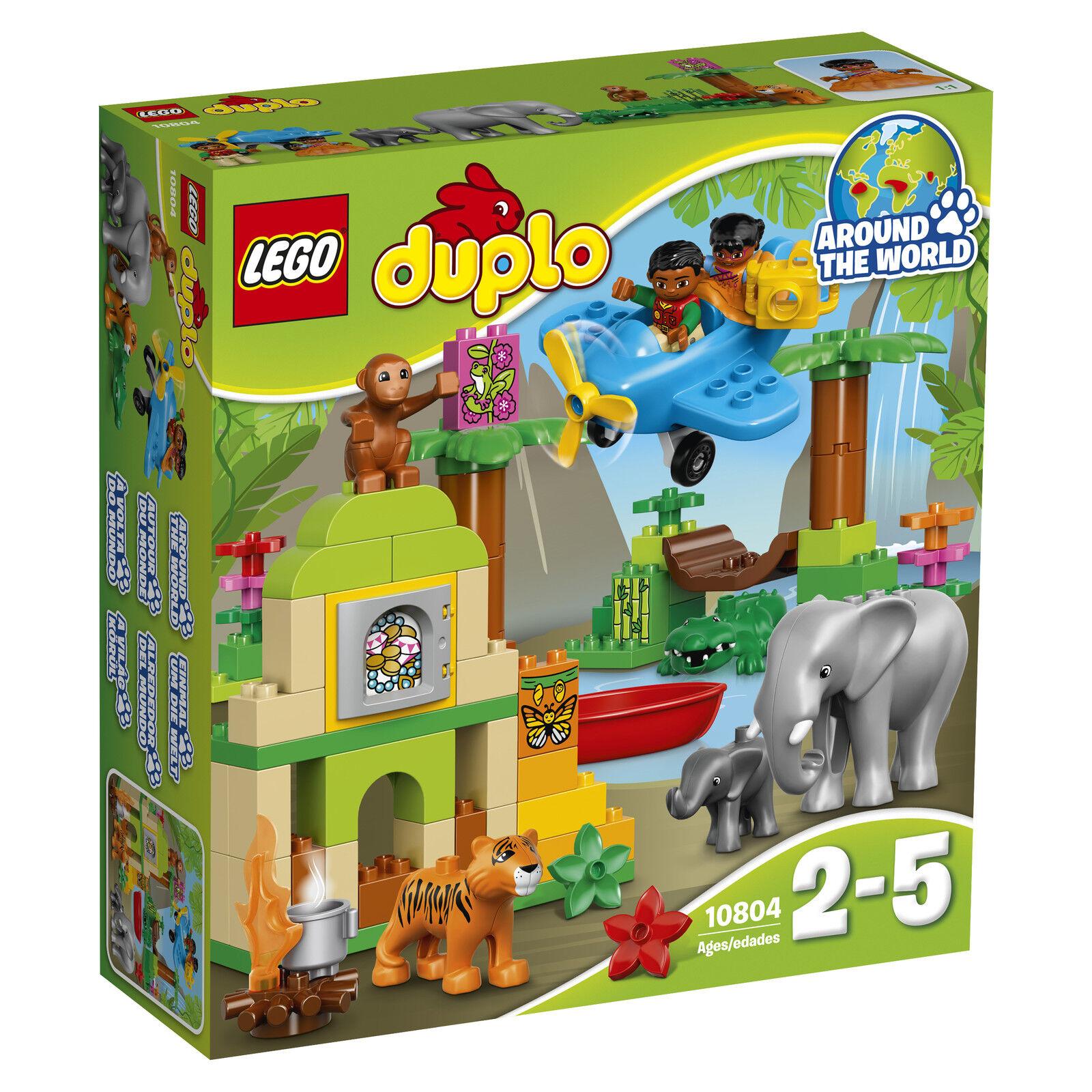 LEGO ® DUPLO ® 10804 Jungle Neuf neuf dans sa boîte _ JUNGLE NEW En parfait état, dans sa boîte scellée Boîte d'origine jamais ouverte
