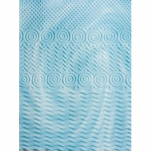 "Foam Mattress Topper Queen Size Gel Pad 2/"" Inch Cover Firm Bed Orthopedic"